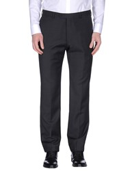 Armani Collezioni Trousers Casual Trousers Men Steel Grey