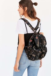 Silence And Noise Silence Noise Floral Drawstring Backpack Black