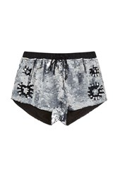 Paul And Joe Malfoy Shorts Silver