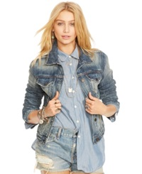 Denim And Supply Ralph Lauren Distressed Denim Knickerson Wash