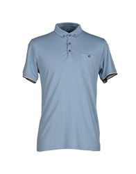 Selected Homme Polo Shirts Sky Blue
