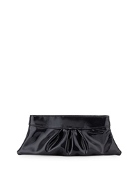 Lauren Merkin Eve Patent Clutch Bag Black