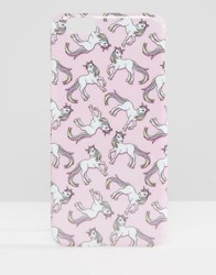 Missguided Unicorn Iphone Case Pink