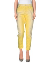 Imperial Star Imperial Trousers Casual Trousers Women Yellow