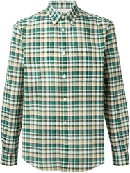 Acne Studios 'Ishwerwood' Check Shirt Green