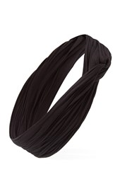 Forever 21 Textured Knit Headwrap Black