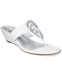 Impo Gibson Wedge Sandals Women's Shoes White