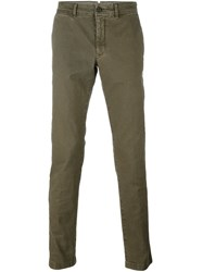 Moncler Classic Chinos Green
