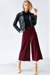 Silence And Noise Silence Noise Hammered Suiting Pant Dark Purple