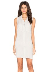Bella Dahl Easy Shirt Dress Gray