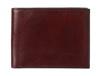 Bosca Old Leather Classic 8 Pocket Deluxe Executive Wallet Dark Brown Wallet Handbags