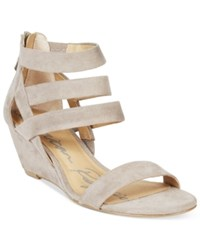 American Rag Casen Demi Wedge Sandals Only At Macy's Women's Shoes Grey