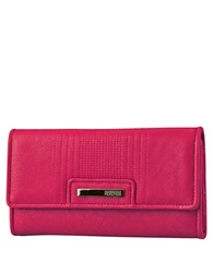 Kenneth Cole Reaction Never Let Go Trifold Flap Clutch Berry