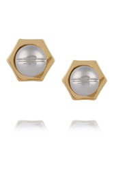 Giles And Brother Gold And Silver Tone Earrings