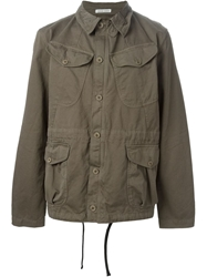 Tomas Maier Buttoned Up Jacket Grey
