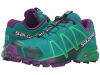 Salomon Speedcross 4 Veridian Green Athletic Green X Passion Purple Women's Shoes