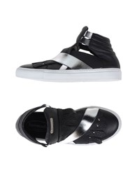 Barracuda Footwear High Tops And Trainers Women Black