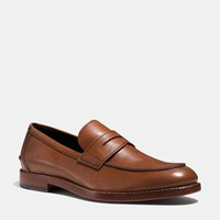 Coach Allen Penny Loafer Saddle