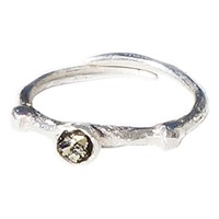 Dreams Of Norway Dawn Ring Pyrite Silver