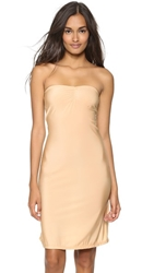 Only Hearts Club Second Skins Strapless Slip Nude