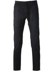 Department 5 Skinny Trousers Black