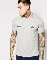 Ellesse Polo Shirt With Classic Logo Grey