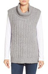 Vince Camuto Women's Two By Chunky Sleeveless Turtleneck