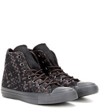 Converse Chuck Taylor All Star Woven High Top Sneakers Grey