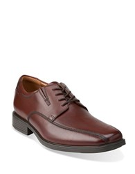 Clarks Tilden Walk Dress Runoff Oxford Shoes Brown