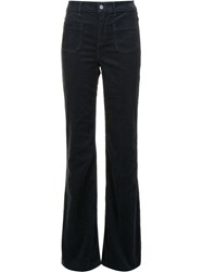 Vanessa Bruno Bootcut Trousers Blue