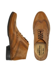 Pakerson Brown Handmade Italian Leather Wingtip Ankle Boots