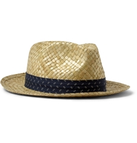 Paul Smith Woven Straw Hat Neutrals