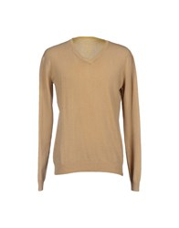 Szen Knitwear Jumpers Men Beige