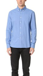 Capital Goods Heavy Oxford Shirt Bright Blue