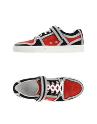 Les Hommes Footwear Low Tops And Trainers Men Red