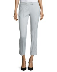 Akris Punto Stretch Twill Ankle Pants Cliff