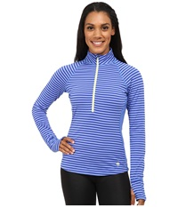 Mountain Hardwear Butterlicious Long Sleeve 1 2 Zip Top Bright Bluet Women's Long Sleeve Pullover