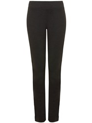 Nydj Pull On Legging In Black Jersey Charcoal