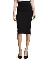 A.Z.I. Pull On Pencil Skirt Black