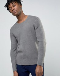 Cheap Monday Knitted Jumper In Snow Grey Snow Grey