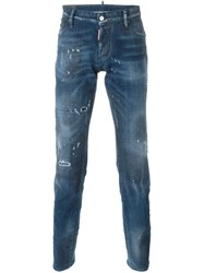 Dsquared2 'Slim' Jeans Blue