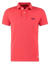 Superdry Polo Shirt Sunkissed Red