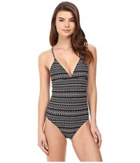Volcom On The Horizon One Piece Black Women's Swimsuits One Piece