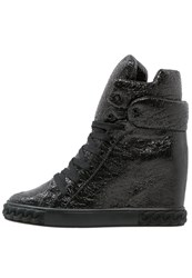 Casadei Hightop Trainers Nero Black