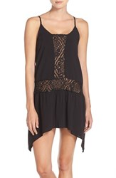 Becca Women's 'Amore' Lace Inset Cover Up Dress