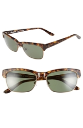 Stussy Deluxe Stussy 'Coltrane' 55Mm Sunglasses Camo Tortoise Green Grey