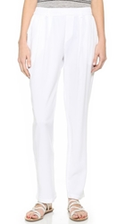 Stateside Pull On Trousers White