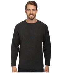 Pendleton Shetland Crew Sweater Blue Green Mix Men's Sweater Black