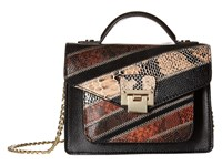 Sam Edelman Kylie Mini Crossbody Black Multi Cross Body Handbags