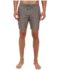 Dolce And Gabbana Swim Trunk Solid Silver Grey
